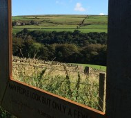 Hardcastle Crags NT framed