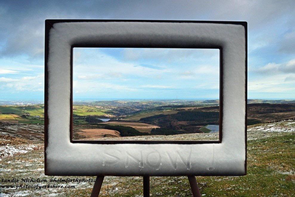 Holme Moss Frame by Sandie Nicholson