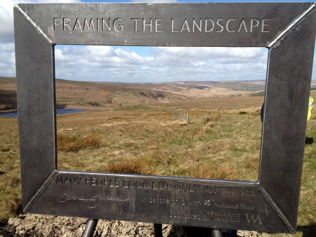 Are you in the frame? - Ashley Jackson - Framing The Landscape